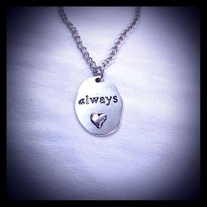 Nwot Love Always necklace